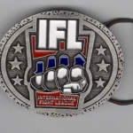 Fight League Belt Buckle